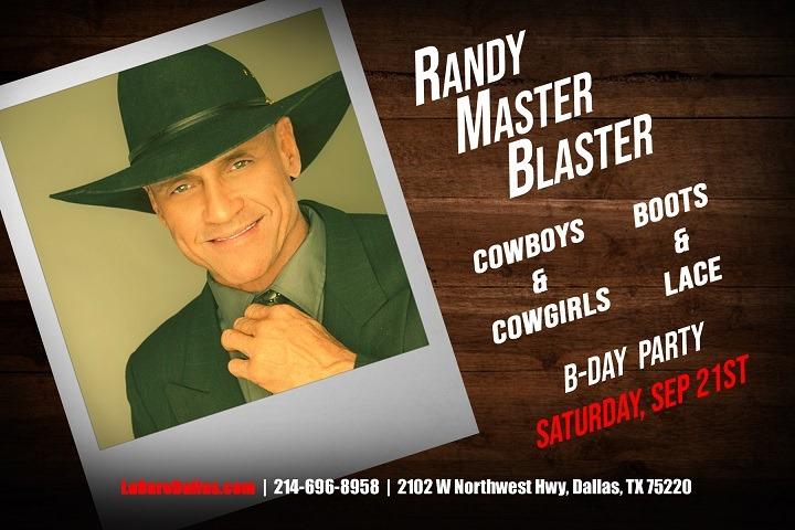 Randy's Cowboys & Cowgirls Birthday