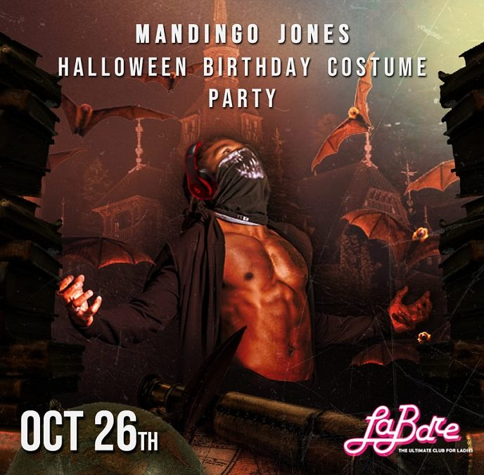 Mandingo Jones' Halloween Costume Birthday Bash