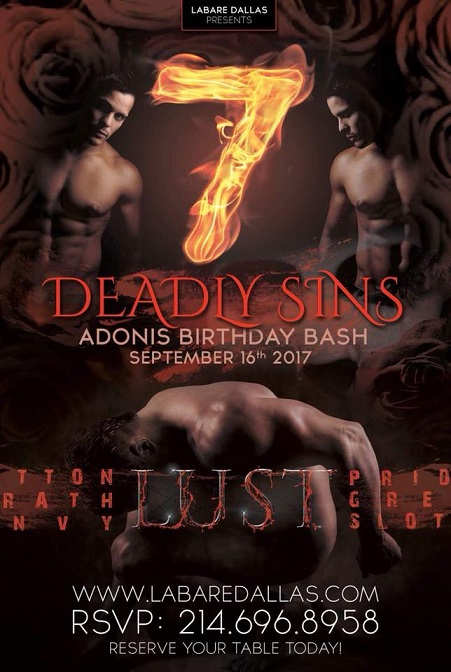 Adonis' Birthday Bash