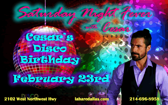 Cesar's Disco Birthday Bash