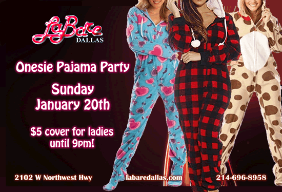 Onesie Pajama Party